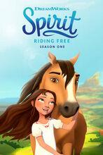 Movie poster Spirit Riding Free