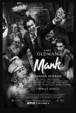 Movie poster Mank
